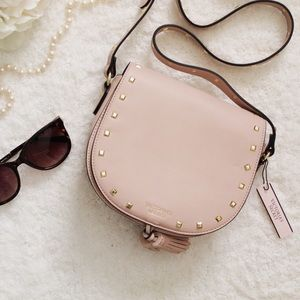 Victoria Secret Pink Studded Crossbody Purse